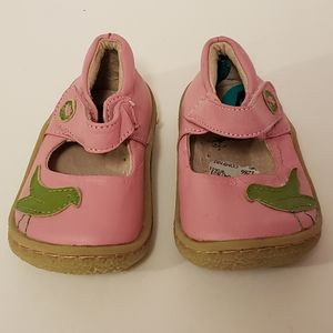 3/$20 Live & Luca leather shoes baby girls size 4